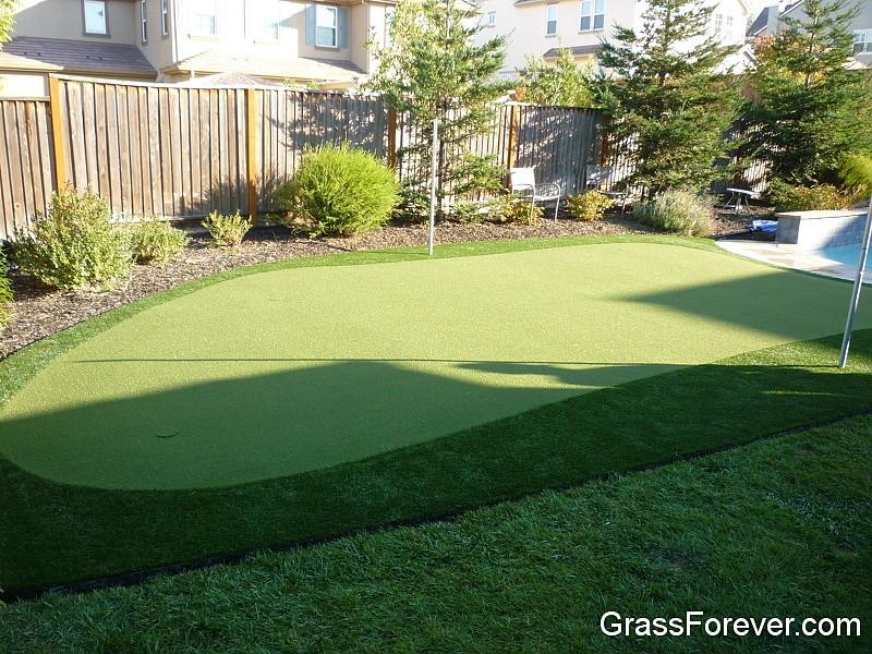 Artificial Putting Greens