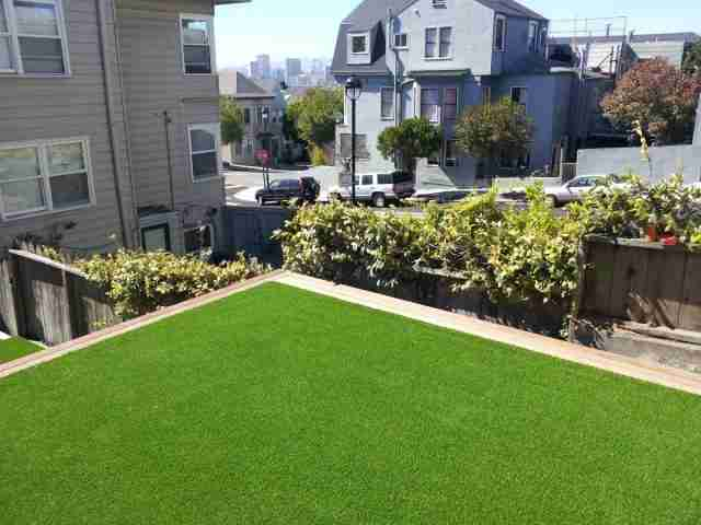 Project: San Francisco, CA Rooftop Synthetic Grass / Artificial Turf
