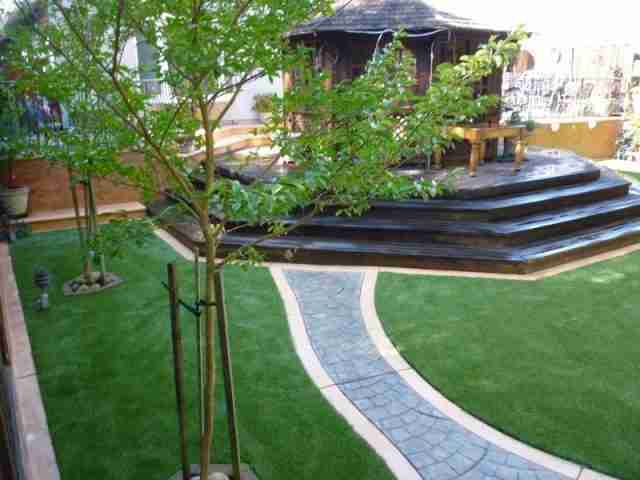 Project: San Mateo, CA Backyard Artificial Grass