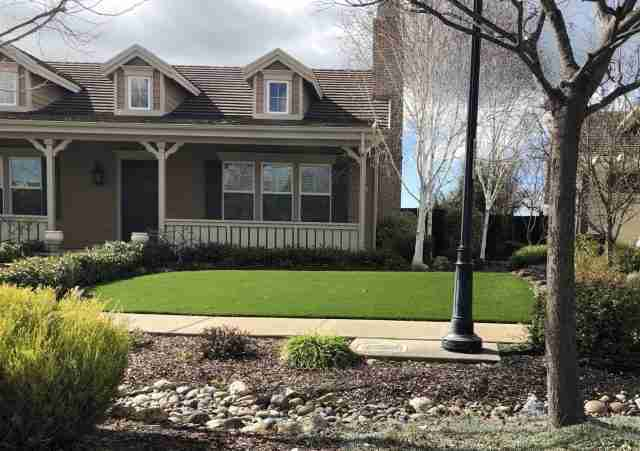 Project: 2 1/2″ Fescue Synthetic Turf for Front Yard in Livermore