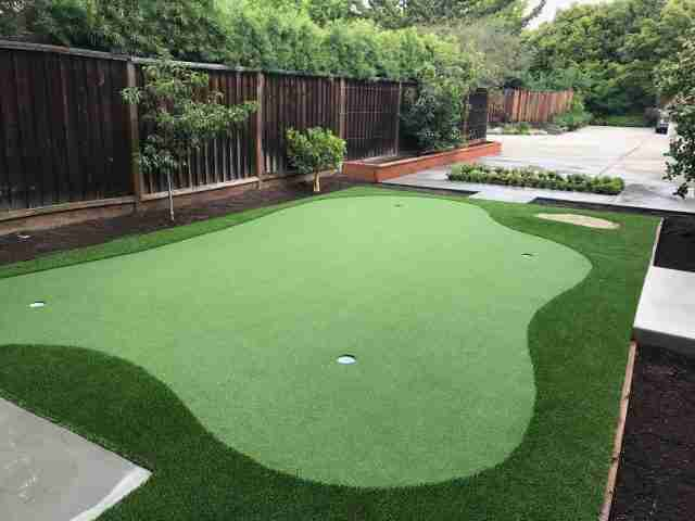 Project: Putting Green Installation in Palo Alto