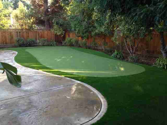 Project: Backyard Putting Green Installation in Danville CA