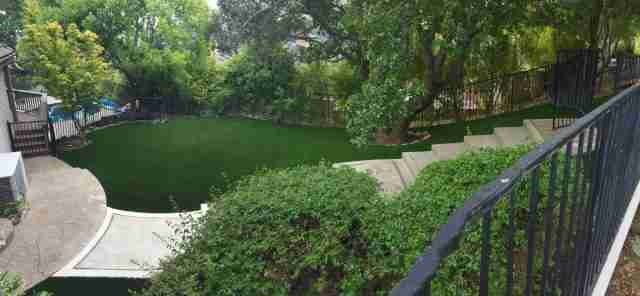 Project: Orinda, CA Backyard Synthetic Grass