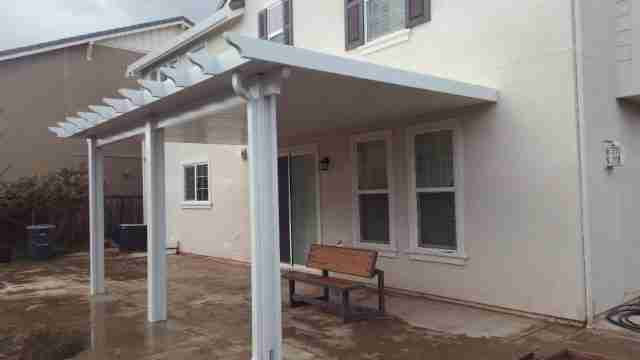 Project: Mountain House 3″ Solid Roof Patio Cover