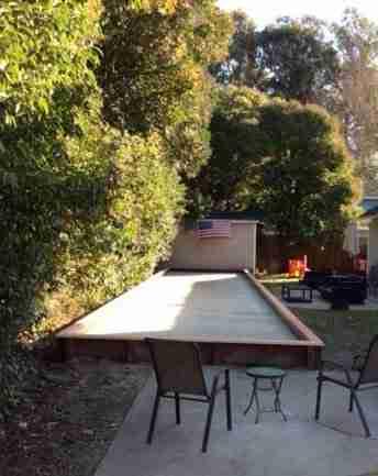 Project: San Ramon Backyard Bocce Court – Oyster Shell Flour