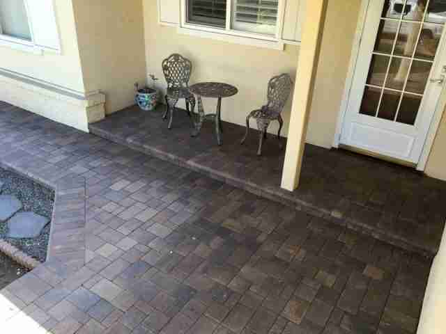 Project: Livermore, CA Front Porch Pavers
