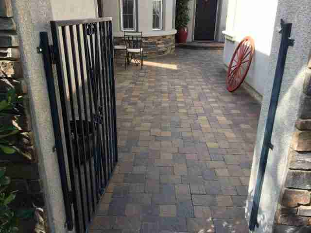 Project: Livermore, CA Front Entry Pavers