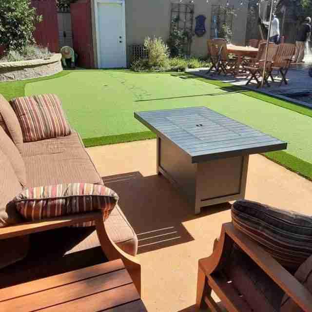 Project: Golfer's dream backyard in Alameda