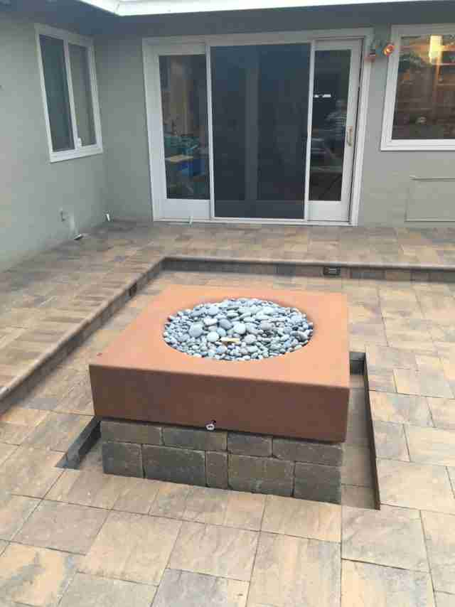 Project: Paver Patio & Fire Pit in Livermore, CA