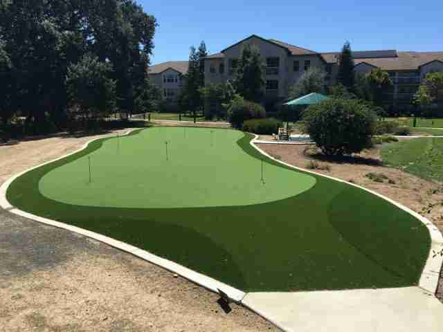 Putting Green by Forever Greens at Paradise Valley Estates in Fairfield, CA