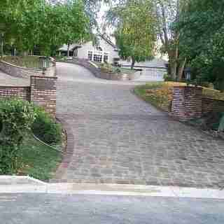 Driveway After Photo