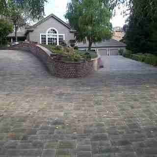 Interlocking Pavers Driveway in Alamo