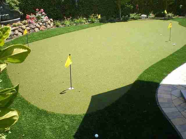 Project: Artificial Lawn & Putting Green in Blackhawk, CA