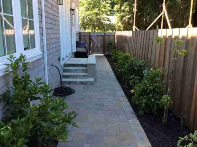 Project: Mill Valley, CA Backyard & Side Yard Pavers