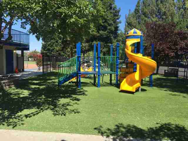 Project: Tabernacle Baptist Elementary School Turf Install with Playground Foam