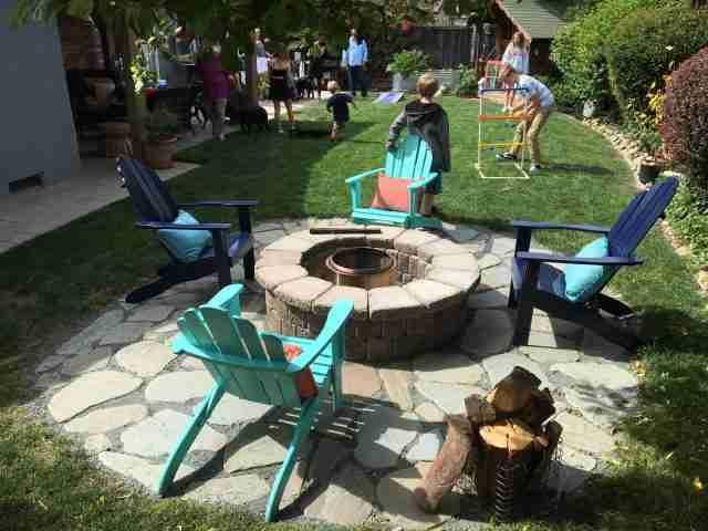 Project: Basalite Stonewall II Fire Pit