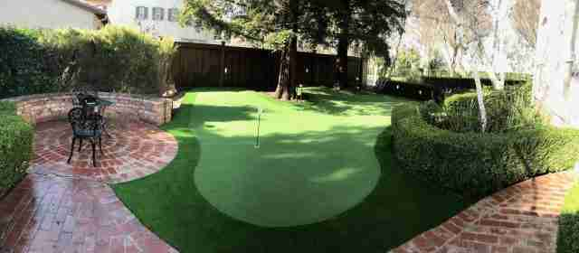 Project: Backyard Putting Green for College Golfer