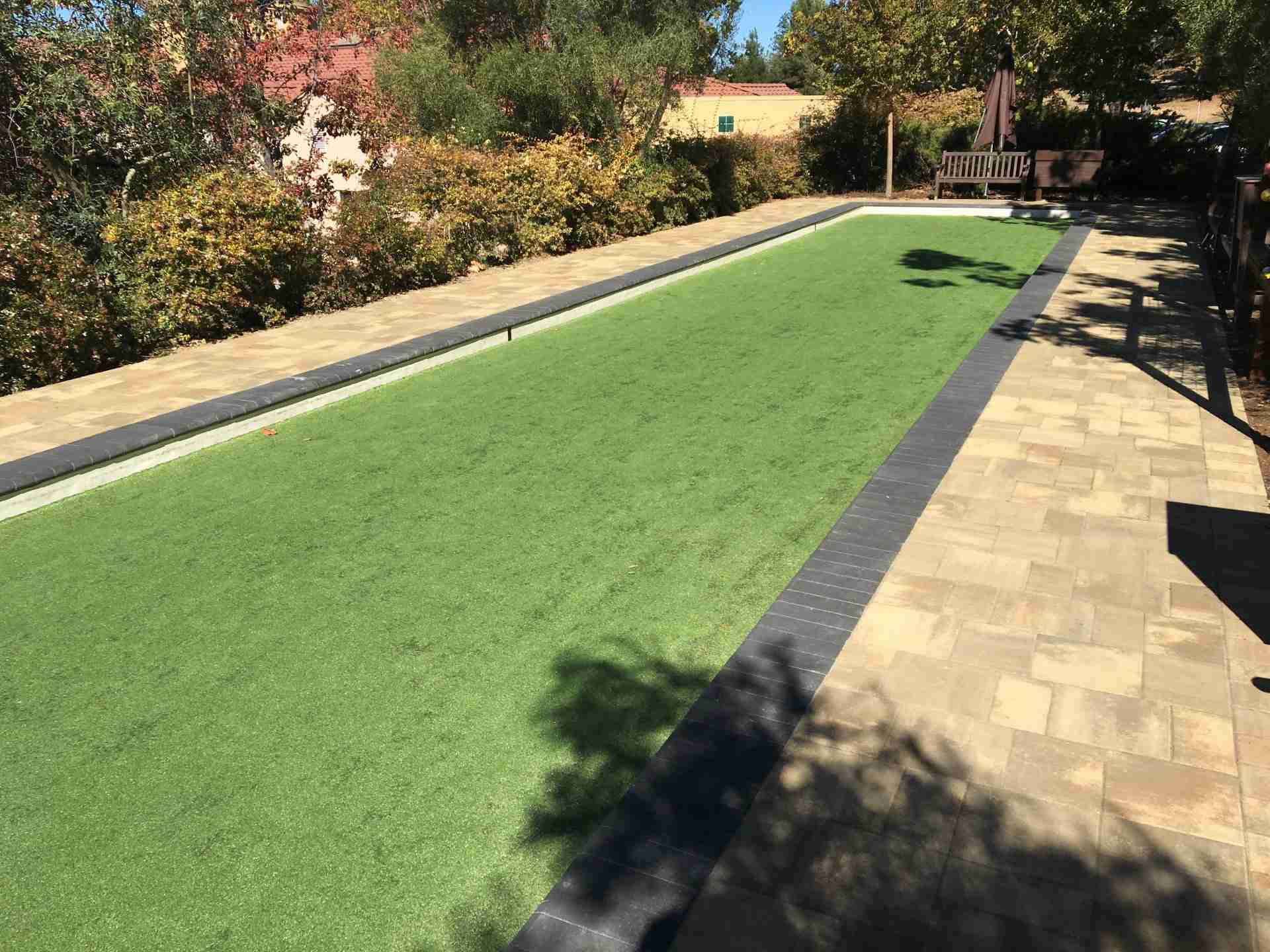 The Forum Senior Community Bocce Ball Court And Paver Patio