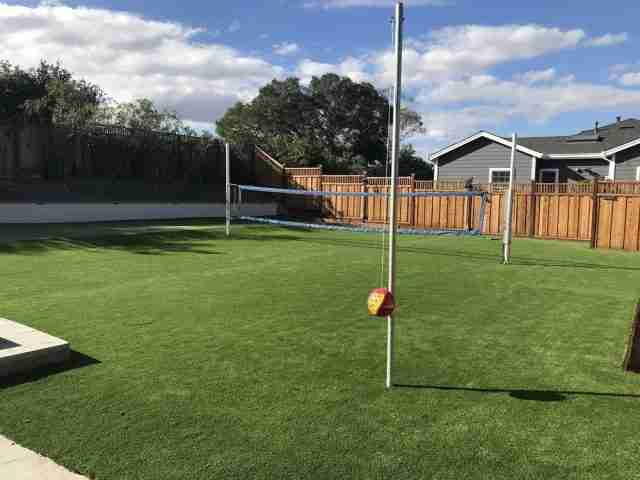 Project: Huge Turf Backyard with Putting Green